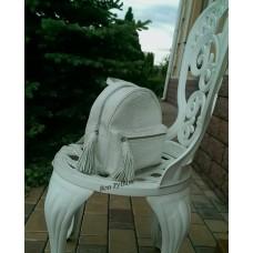 Рюкзак из кожи питона Marion (white)