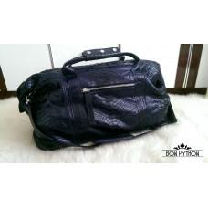 Дорожная сумка Leonardo (blue glossy)