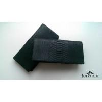 Портмоне из кожи питона Vester (black)