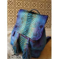 Рюкзак из кожи питона (multicolor)