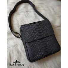 Мужская сумка Bennett (черная матовая)