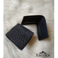 Портмоне из кожи питона Zave (black)