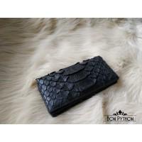 Портмоне из кожи питона Vester (dragon black)