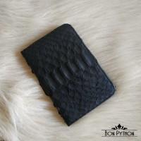 Обложка для паспорта из кожи питона (black)