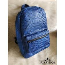 Рюкзак из кожи питона Tyler (blue dragon)
