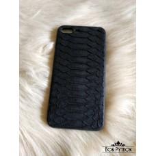 Чехол для iPhone 8+ кожи питона (black)