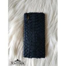 Чехол для Huawei кожи питона (black)